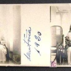 Fotografía antigua: SANTOÑA. UN RETRATO. AÑO 1920 - SANTANDER. Lote 13078278