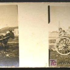 Fotografía antigua: SANTOÑA. PASEO EN CARROMATO. CIRCA 1920 - SANTANDER. Lote 16245971