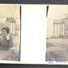 Fotografía antigua: SANTOÑA. RETRATO EN LA PLAYA DE BERRIA. CIRCA 1920 - SANTANDER. Lote 16245973