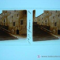 Fotografía antigua: GERONA - CRISTAL POSITIVO ESTEREOSCOPICO. Lote 10123594