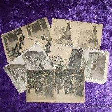 Fotografía antigua: SEGOVIA LOTE DE SEIS ESTEREOSCOPIAS. Lote 11468046
