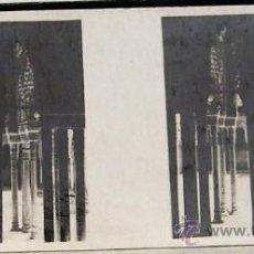 Fotografía antigua: F149.- 8X3 CHOCOLATES SOLSONA. SERIE I, Nº 20 GRANADA, ALHAMBRA, PATIO DE LOS LEONES. Lote 11691557
