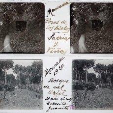 Fotografía antigua: MONTCADA. 8 CRISTALES ESTEREO POSITIVOS, 1920. TAMAÑO CRISTALES: 10,4 X 4,3 CM.. Lote 12597201