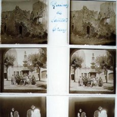 Fotografía antigua: SANTES CREUS, TARRAGONA, 1915'S APROX. 3 CRISTALES ESTEREO 1915'S APROX.. Lote 14761664