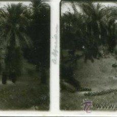 Fotografía antigua: FOTO ESTEREOSCOPICA CRISTAL 60X130 EGIPTO ASSUAN. Lote 13417859