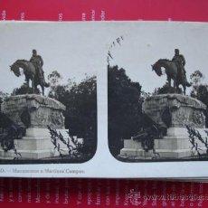 Fotografía antigua: MADRID.MARTINEZ CAMPOS. Lote 13741767