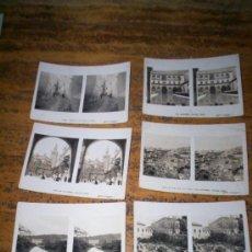 Fotografía antigua: 4 ESTEREOSCOPICAS ESPAÑA, AÑOS 20 GRANADA Y BARCELONA SERIE INGLESA. Lote 27291698
