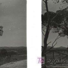 Fotografía antigua: CULLERA (VALENCIA) - VISTA - AÑOS 1920-25 - CRISTAL POSITIVO. Lote 27508566