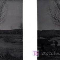 Fotografía antigua: CULLERA (VALENCIA) - VISTA - AÑOS 1920-25 - CRISTAL POSITIVO. Lote 27508569