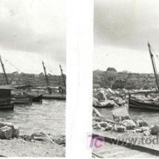Fotografía antigua: CULLERA (VALENCIA) - VISTA - AÑOS 1920-25 - CRISTAL POSITIVO. Lote 27508570