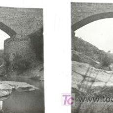 Fotografía antigua: CULLERA (VALENCIA) - VISTA - AÑOS 1920-25 - CRISTAL POSITIVO. Lote 27508573