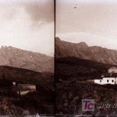 Fotografía antigua: LAS PLANAS (VALLVIDRIERA), BARCELONA - VISTA - AÑO 1922 - CRISTAL NEGATIVO. Lote 18475128