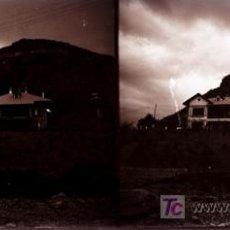 Fotografía antigua: LAS PLANAS (VALLVIDRIERA), BARCELONA - VISTA - AÑO 1922 - CRISTAL NEGATIVO. Lote 18475144