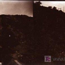 Fotografía antigua: LAS PLANAS (VALLVIDRIERA), BARCELONA - VISTA - AÑO 1922 - CRISTAL NEGATIVO. Lote 18475178