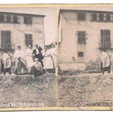 Old photograph - BARCELONA - VALLCARCA 1898 - 2 imagenes - 21625808