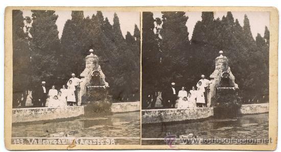 Fotografía antigua: BARCELONA - VALLCARCA 1898 - 2 imagenes - Foto 2 - 21625808