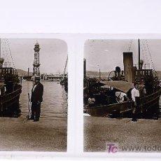 Fotografía antigua: BARCELONA, LOTE DE 19 CRISTALES ESTEREO. 10 POSITIVOS Y 9 NEGATIVOS. . Lote 19131452