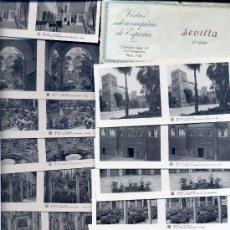 Fotografía antigua: VISTAS ESTEREOSCÓPICAS DE ESPAÑA • 15 VISTAS DE SEVILLA / COLECCIÓN Nº87. 3ª SERIE COMPLETA. RELLEV . Lote 27138580