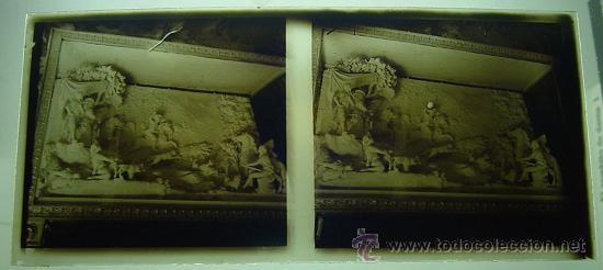 ANTIGUA FOTOGRAFIA ESTEREOSCOPICA DE CRISTAL DE ESCORIAL - 4 DE JUNIO 1940 - IMPRESIONANTE - EXCELEN (Fotografía Antigua - Estereoscópicas)