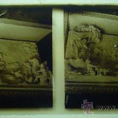 Fotografía antigua: ANTIGUA FOTOGRAFIA ESTEREOSCOPICA DE CRISTAL DE ESCORIAL - 4 DE JUNIO 1940 - IMPRESIONANTE - EXCELEN. Lote 19954526