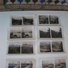 Fotografía antigua: 8 FOTOGRAFIAS ESTEROSCOPIASC. Lote 20978523