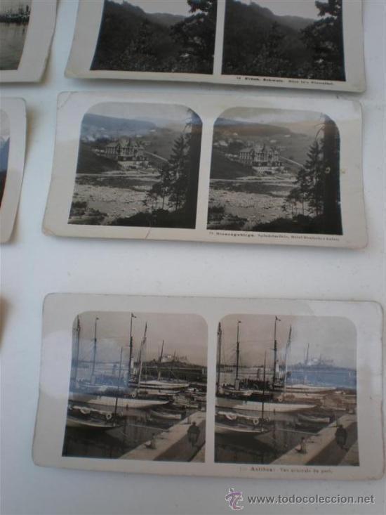 Fotografía antigua: 8 fotografias esteroscopiasc - Foto 3 - 20978523