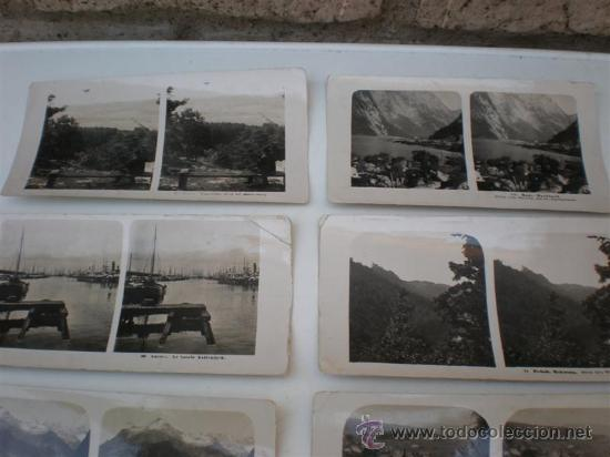 Fotografía antigua: 8 fotografias esteroscopiasc - Foto 4 - 20978523