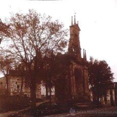 Old photograph - BURGOS, Arco de fernan gonzalez. 1910's aprox. cristal positivo estereo 6x13 cm - 21669799