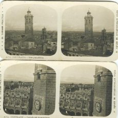Fotografía antigua: CASTELLON. COLECCION NUMERADA DE 12 VISTAS. HACIA 1910.. Lote 26831861