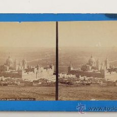 Old photograph - MADRID, EL ESCORIAL. VISTA GENERAL DEL MONASTERIO, LAURENT FOT. - 23564696