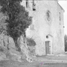 Fotografía antigua: SANTUARIO DE QUERALT. PRECIOSA IMAGEN DEL SANTUARIO ANTES DE LA REMODELACIÓN. BERGA. CIRCA 1915. Lote 23741829