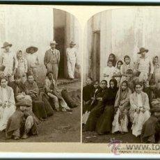 Fotografía antigua: RECONCENTRADOS EN REMEDIOS GUERRA DE CUBA 1899 ORIGINAL. Lote 26978571