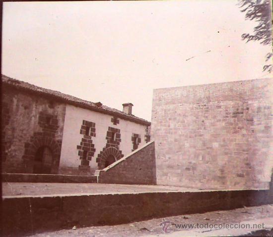 ESPAÑA, POR IDENTIFICAR, 1915'S, CRISTAL NEGATIVO ESTEREO 10,4 X 4,3 CM (Fotografía Antigua - Estereoscópicas)