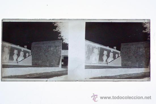Fotografía antigua: ESPAÑA, POR IDENTIFICAR, 1915S, CRISTAL NEGATIVO ESTEREO 10,4 X 4,3 CM - Foto 2 - 24733796