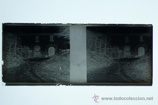 Fotografía antigua: España, POR IDENTIFICAR, 1915S, CRISTAL NEGATIVO ESTEREO 10,4 X 4,3 CM - Foto 2 - 24771226