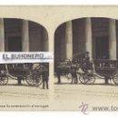 Fotografía antigua: FOTO ESTEREOSCÓPICA - Nº 10 MADRID- CONGRESO - LA CONTESTACIÓN AL MENSAJE -. Lote 26944375