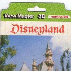 VIEW MASTER 3D 21 FOTOS - DISNEYLAND - 1975