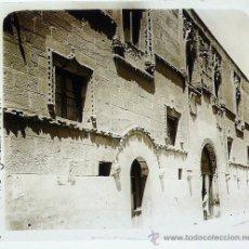 Fotografía antigua: ZAMORA, PALACIO DE LOS MOMOS, 1915'S. CRISTAL POSITIVO ESTEREO 6X13 CM. FXP. Lote 27022102