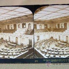 Fotografía antigua: FOTOGRAFIA, ANTIGUA, ESTEREOSCOPICA, CAMARA DEL SENADO, WASHINGTON, 1903, H.C. WHITE CO.. Lote 27045481