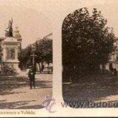 Fotografía antigua: SANTANDER - Nº4 MONUMENTO A VELARDE. Lote 27314233
