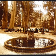Fotografía antigua: HORTA, BARCELONA, 1915'S. CRISTAL POSITIVO ESTEREO 6X13 CM.. Lote 27717221
