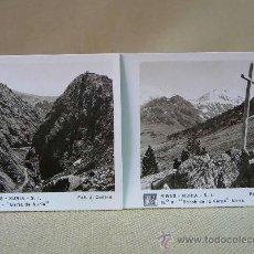 Fotografía antigua: FOTO, FOTOGRAFIAS ESTEREOSCOPICAS, 15 VISTAS, RIBAS-NURIA, SIN SOBRE, ESTEROSCOPIA RELLEV. Lote 27875564