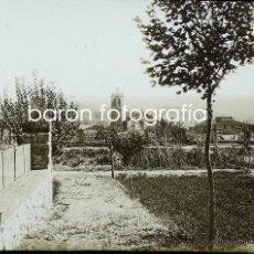 Fotografía antigua: CENTELLES, 1920'S. CRISTAL POSITIVO ESTEREO 6X13 CM. Lote 28418715