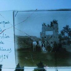 Fotografía antigua: ESTEREOSCOPIA PARQUE DE SAN FELIU DE CODINAS 1924,CRISTAL. Lote 28481262