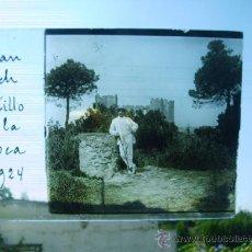 Fotografía antigua: CASTILLO DE LA ROCA 1924,JUAN POCH. Lote 28481571