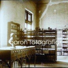 Fotografía antigua: BARCELONA, SEMINARIO DE LA UNIVERSIDAD, AÑO 1920. 11 CRISTALES POSITIVOS ESTEREO 6X13 CM.. Lote 28842903