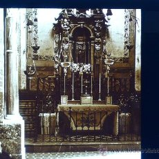 Fotografía antigua: MALLORCA, SANTUARIO DE LLUCH, CAMARIL, 1915. FOTO: SALVANY-NONELL.CRISTAL POSITIVO ESTEREO 6X13 CM.. Lote 29076329