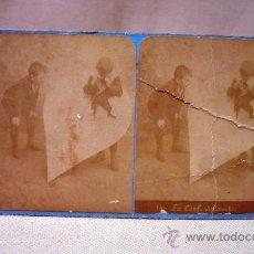Fotografía antigua: FOTOGRAFIA, ESTEREOSCOPICA, COLECCION PARIS, F 11, 17 X 9 CM. Lote 29131463