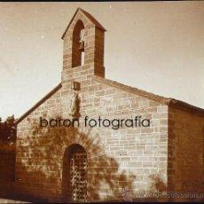Fotografía antigua: ALCÚDIA, ERMITA DE BONANOVA, MALLORCA, 1915. FOTO: SALVANY - NONELL, CRISTAL POSITIVO ESTEREO 6X13. Lote 29191343
