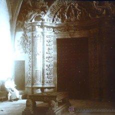 Fotografía antigua: PALMA DE MALLORCA, CATEDRAL, 1915. FOTO: SALVANY-NONELL. CRISTAL POSITIVO ESTEREO 6X13 CM.. Lote 29197919